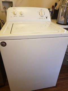 Almost New Washer and Dryer Set