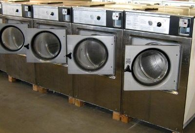 $1,799, Wascomat Front Load Washer W125 3PH Stainless Steel