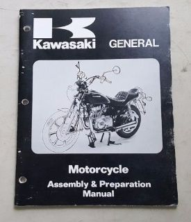 Find KAWASAKI MAY 1995 GENERAL MOTORCYCLE ASSEMBLY & PREPARATION MANUAL 99931-1064-03 motorcycle in Columbia, Connecticut, United States, for US $14.99