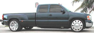 DUALLY REPLACEMENT AN CONVERSION REAR FENDERS CHEVY FORD DODGE
