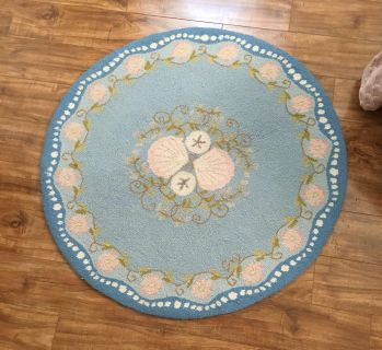 """Claire Murray 36"""" Round Seashell Collection Rug"""