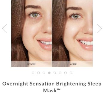 NEW Thrive Overnight Sensation Brightening Sleep Mask