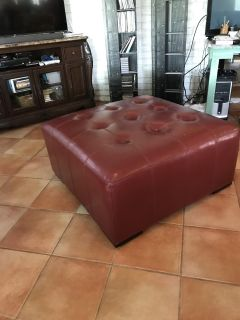 Square Ottoman or coffee table
