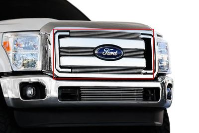 Sell 2011-2014 Ford Super duty T-Rex Grill Billet Bolt on Grill Insert F250,F350,F450 motorcycle in Temperance, Michigan, US, for US $85.00