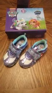 paw patrol lol girl shoes and they light up
