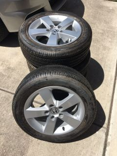 Used tires/rims from 06 Honda Civic