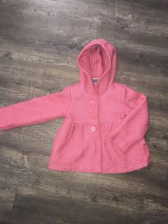 Pumpkin Patch hooded jacket. Adorable! Size 4t.