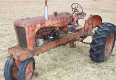 ALLIS CHAMBER TRACTOR WD45