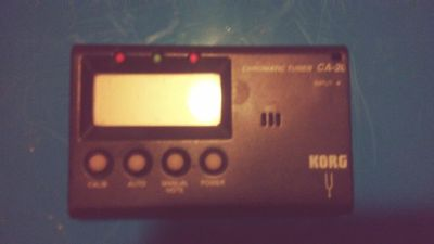 Portable electronic tuner