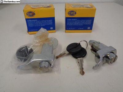 NOS Hella Bug Locking Engine Deck Lid 113827503H