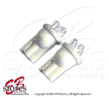 Sell White Glove Box 3 LED T10 Wedge Light Bulbs 2pcs 2821 175 906 161 (1 Pair) motorcycle in Walnut, California, US, for US $2.95