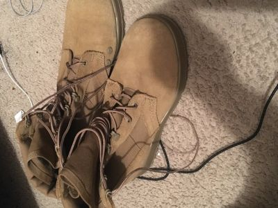 Army steel toe bootss