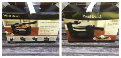 BRAND NEW Rotating Waffle Maker, asking $20 (cost $42)