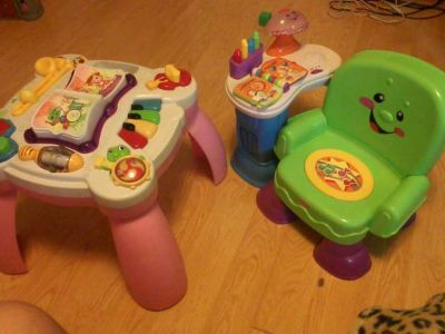 VERY NICE FISHER PRICE  VTECH TOYS