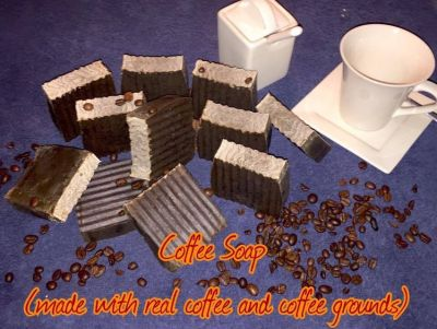 All natural homemade Coffee Soap