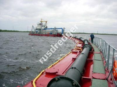 Dredger 2600 by URAL GYDROMECHANICAL PLANT, CJSC