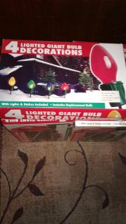 7 boxes of new giant christmas lights