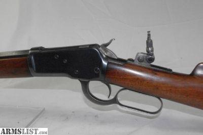 "For Sale: Winchester (Pre 64) Model 1892 (1927) 44 Wcf 20"" Octagon Brl"