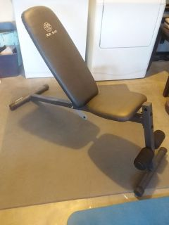Weight Bench-Gold's Gym XR 5.9