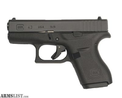For Sale: Glock 43 9mm NEW
