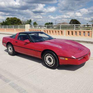 1984 Chevrolet Corvette Base (Red)