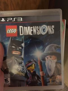 PS3 Lego dimensions game only