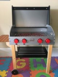 Educo Wooden Play Grill