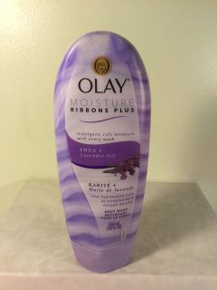 Olay Moisture ribbons plus Shea and lavender oil hydrating body wash