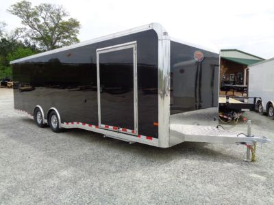2020 All Aluminum 8.5 x 28 Sundowner Race Trailer Loaded