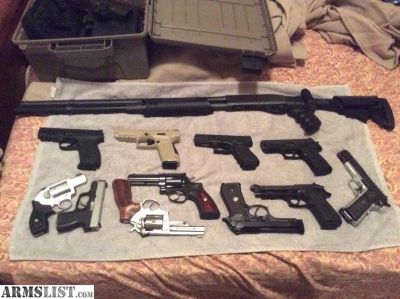 For Sale: Gun Collection