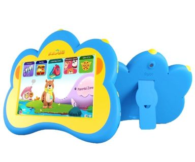 """Kids Tablet, B.B.PAW 7"""" Educational Tablet for Kids 2 to 6 Years Old with 90+ Preloaded Learning Apps"""