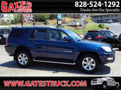 2004 Toyota 4Runner Limited (Dark Blue)