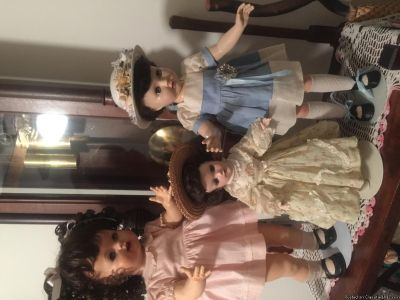 Dolls. Barbies. Antique dolls and others. Also other items. Yard sale Friday and Saturday sept 14