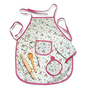 Kids Apron Cookware Set, New in Box