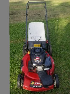 "Toro 22"" self propelled lawn mower"