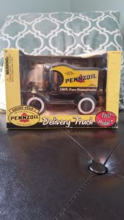 Gearbox Pennzoil Delivery Truck Ford Model T Yellow & Black