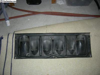Porsche 911/912 early,rain drip tray,rear original