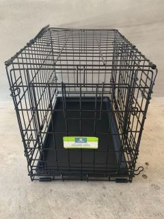 22 Double Door Wire Dog Crate
