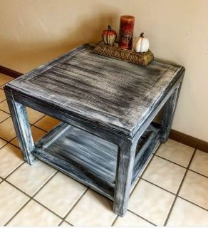 Ultra Rustic Table!