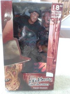 Freddy Krueger 18-inch with Sound Action Figure (Collectible)