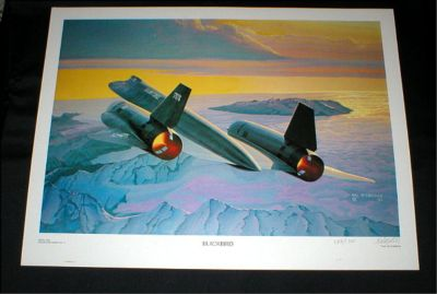 """BLACKBIRD"" - Aviation Art Print - Signed & Numbered by Hal McCormick"