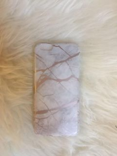 BRAND NEW Rose Gold Marble iPhone 6/6s phone case