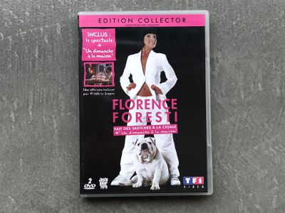 Florence Foresti Fait des Sketches a la Cigale Region 2 DVD French TESTED