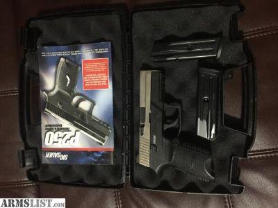 For Trade: sig modular p250 9mm