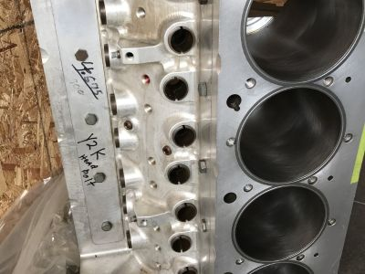 LSM Billet 5.0 bore space 11.1 deck block&