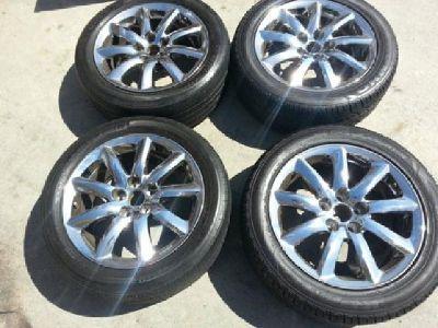 "$800 OBO 18"" Lexus Ls Series Ls460 Ls600 Oem Factory Chrome Wheels Rims"