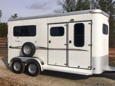 2003 Sundowner 2 Horse trailer Straight Load