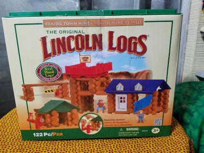 Lincoln Logs, 122 pieces