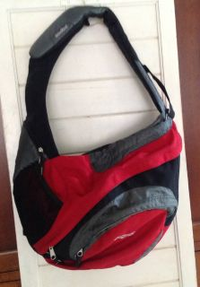 Jansport Backpack Red and Black Sling Style