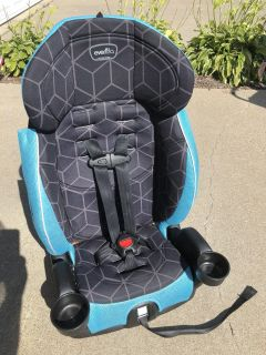 Evenflo 5 point booster seat